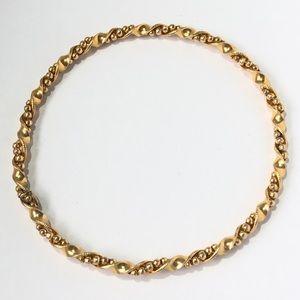 Vintage 12k Gold Filled Bangle Bracelet BB